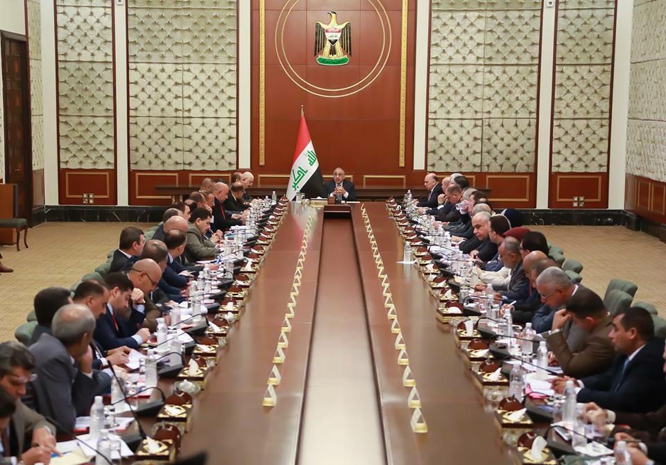 عبدالمهدي يترأس اجتماع الهيئة العليا للتنسيق بين المحافظات