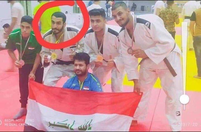 رصاصة قناص تُسقط بطلاً عراقياً بالجودو خلال التظاهرات