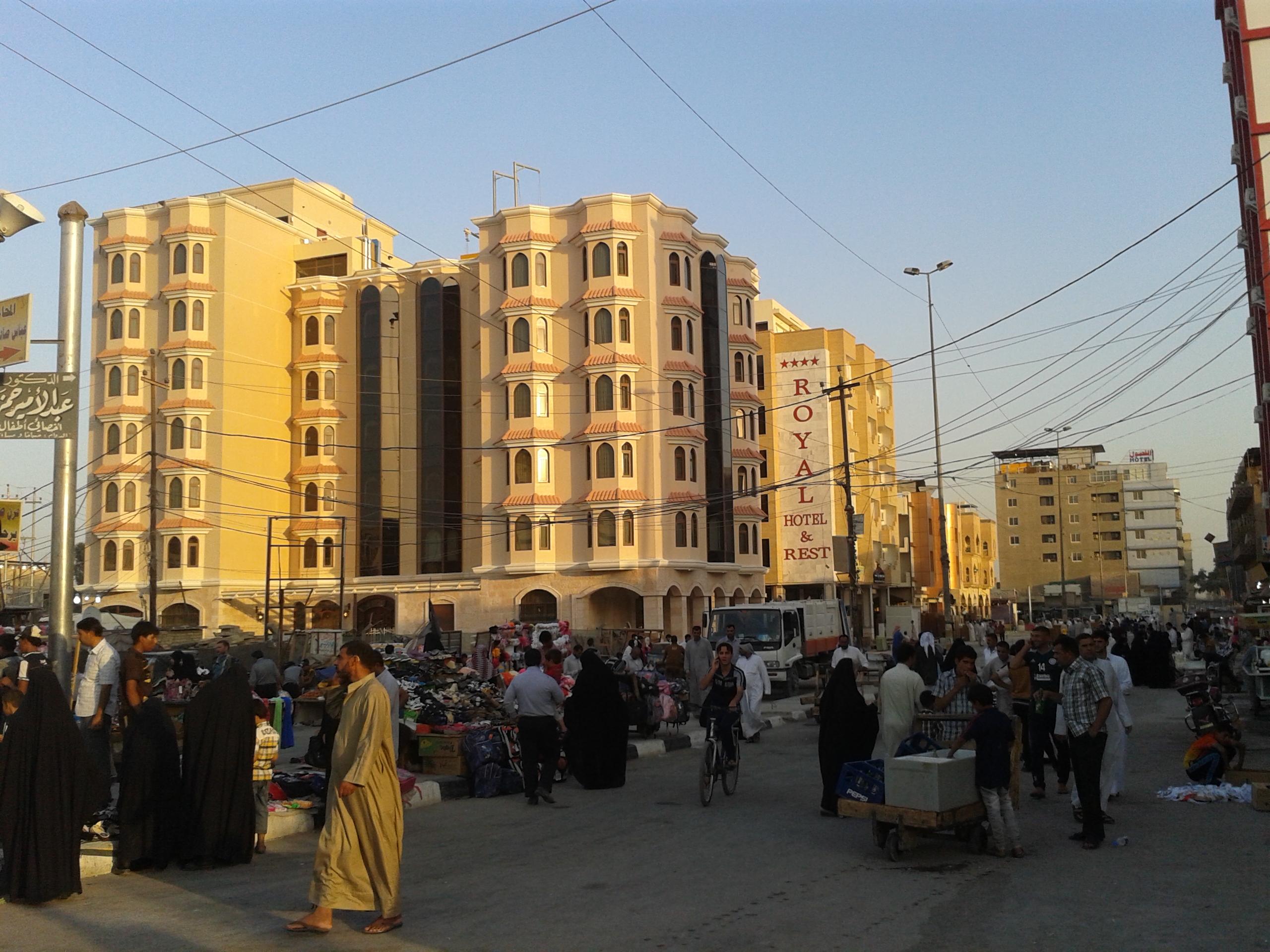 صحيفة بريطانية: اغلاق 200 فندق ومطعم بالنجف بسبب عقوبات اميركا على ايران