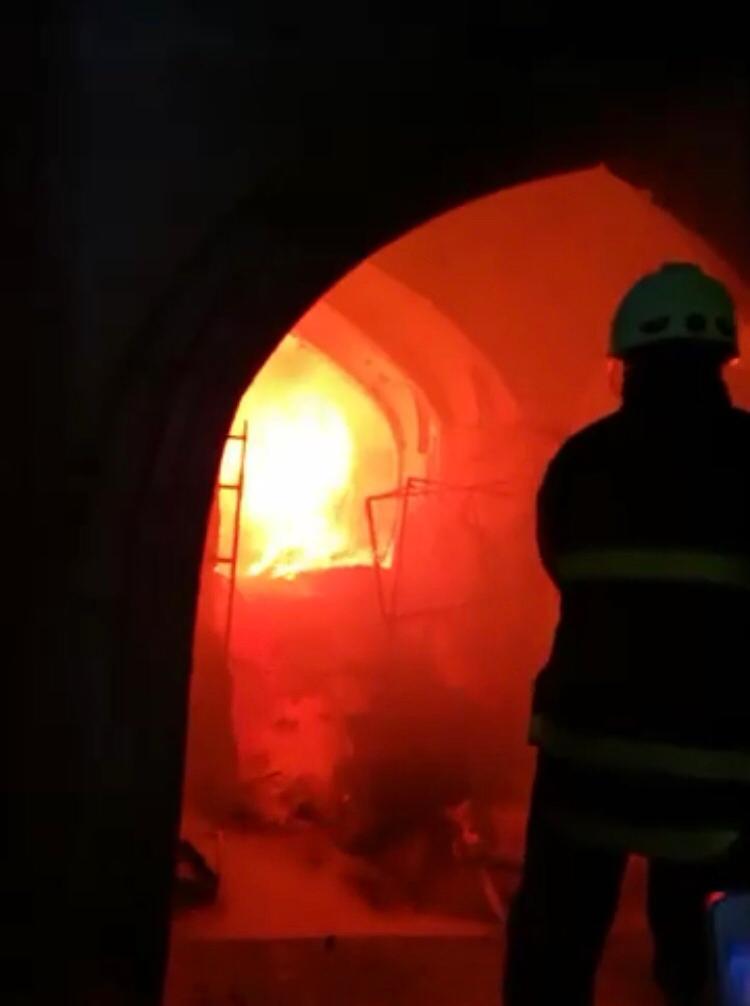 حريق القيصرية بكركوك أذاب 5 اطنان من الذهب بقيمة مليار دولار