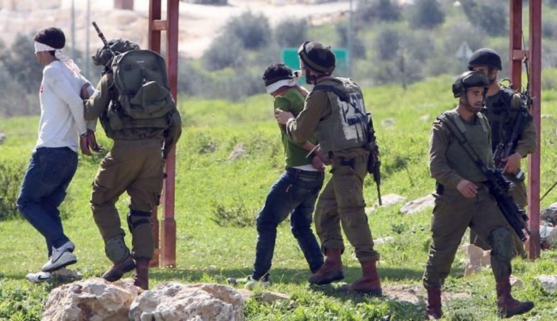 اعتقالات في الضفة تطال 17 فلسطينيا