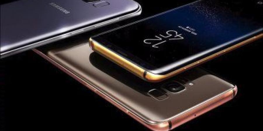 طرح نسخ مطلية بالذهب من جلاكسى S8 وS8+ بـ3 آلاف دولار