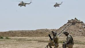 مقتل 15 ارهابياً بعملية مشتركة للجيش  وطيران التحالف في الانبار