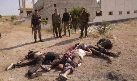مقتل ستة ارهابيين من عصابات داعش، شمال الشرقاط