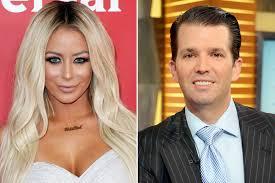 ابن دونالد ترامب يخون زوجته مع نجمة عالمية.. خمنوا من هي؟؟؟