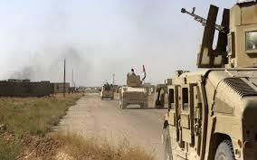تطهير قرية قابوسية بالكامل من مخلفات عصابات داعش