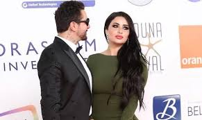 بالصورة : زوجة أحمد الفيشاوي الجديدة تخطف الأنظار في أول ظهور رسمي لها ؟؟؟؟!