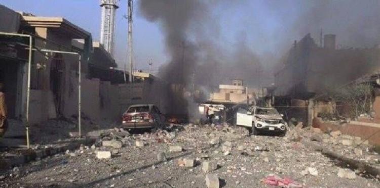 جنود وحدة مكافحة الارهاب يتعرضون لهجوم بغاز الخردل في الموصل