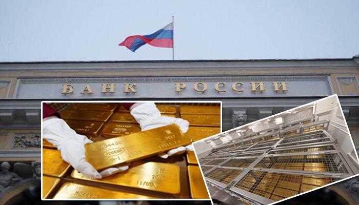 بالصور .. مذخرات روسيا من الذهب الخالص