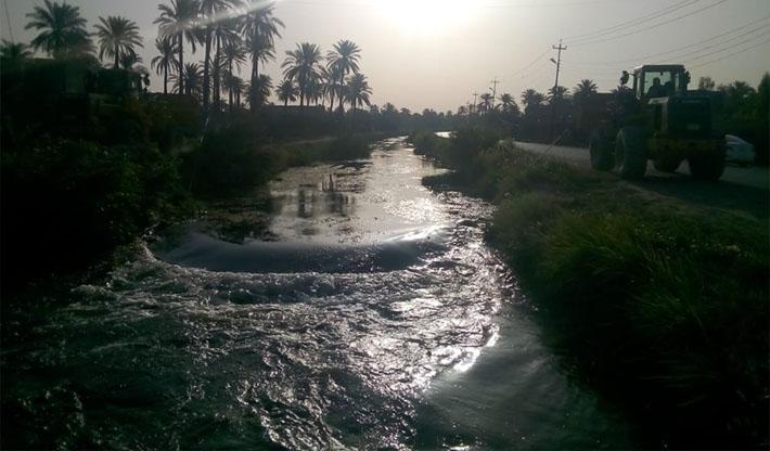 مناسيب نهر الفرات في كربلاء ترتفع والموارد تعتبرها طبيعية