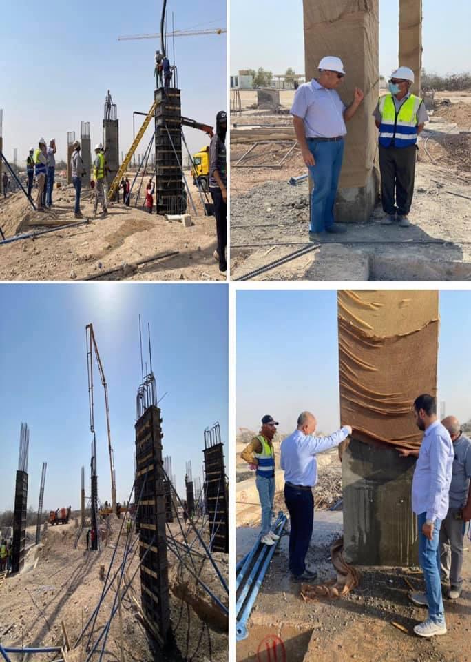انطلاق العمل مجددا لإعادة بناء ملعب الانبار الاولمبي