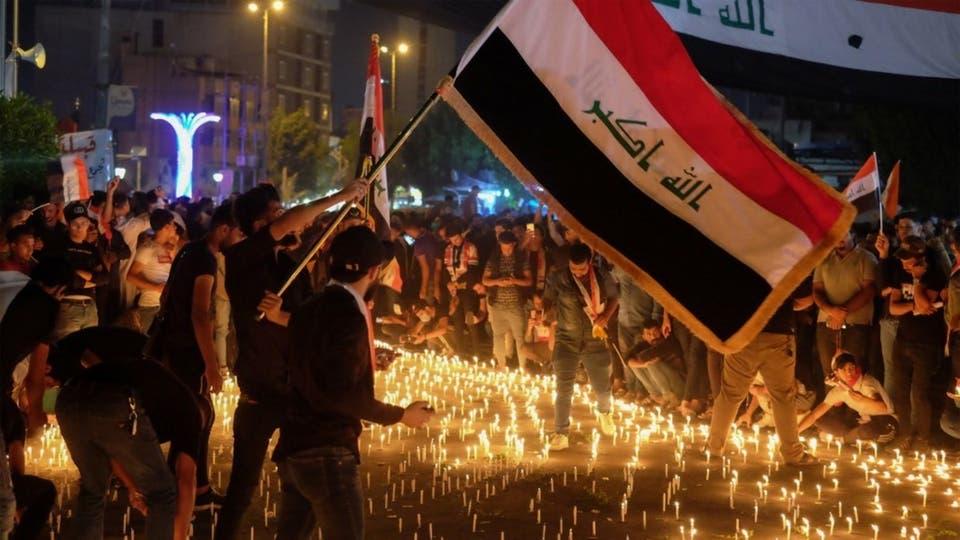 """دعوات لتشكيل قائمة """"الثورة"""" لخوض الانتخابات وسياسيون يتهمون جماعات دينية بقتل متظاهري البصرة"""