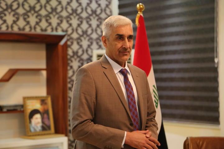 وزير الشباب والرياضة يبارك فوز المنتخب العراقي في افتتاح خليجي 24