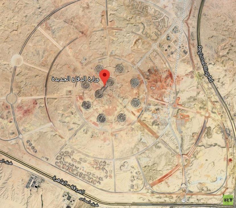شاهد بالصور.. اضخم مبنى عسكري لجيش عربي في الشرق الاوسط