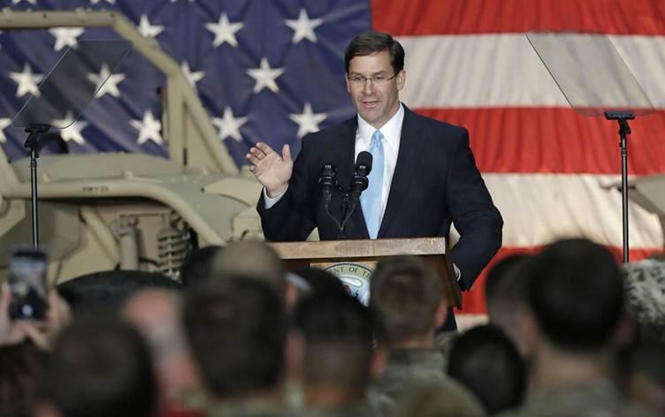 وزير الدفاع الأمريكي: نستعد لإجلاء 1000 جندي من شمالي سوريا