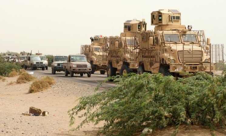 التحالف بقيادة السعودية يقتحم مجمع مطار الحديدة في اليمن