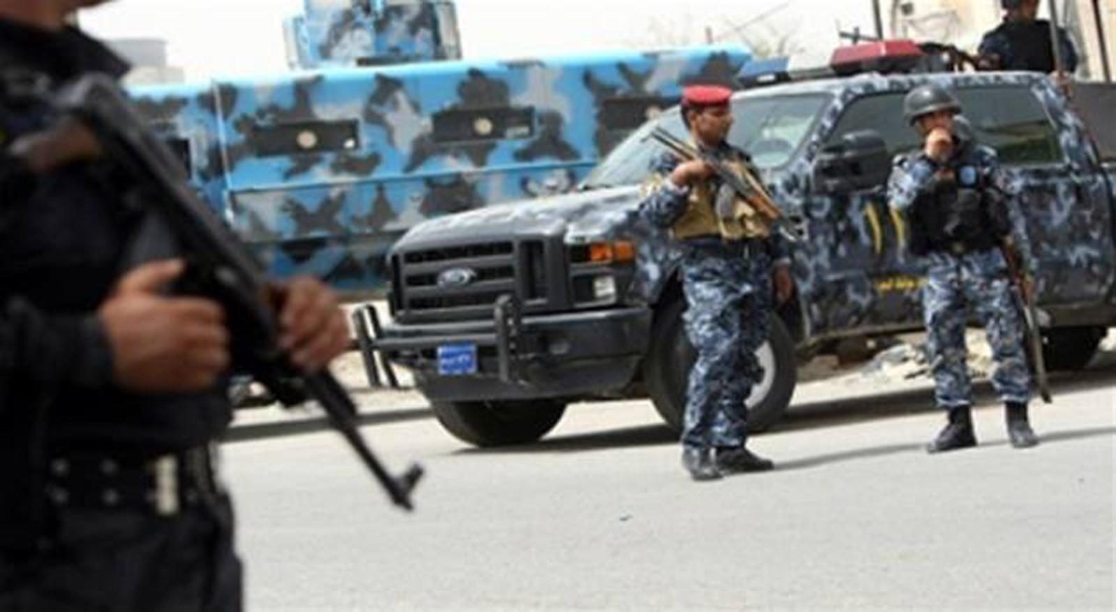 في منطقة الدورة  ..  دوريات نجدة بغداد تعثر على صواريخ وأسلحة
