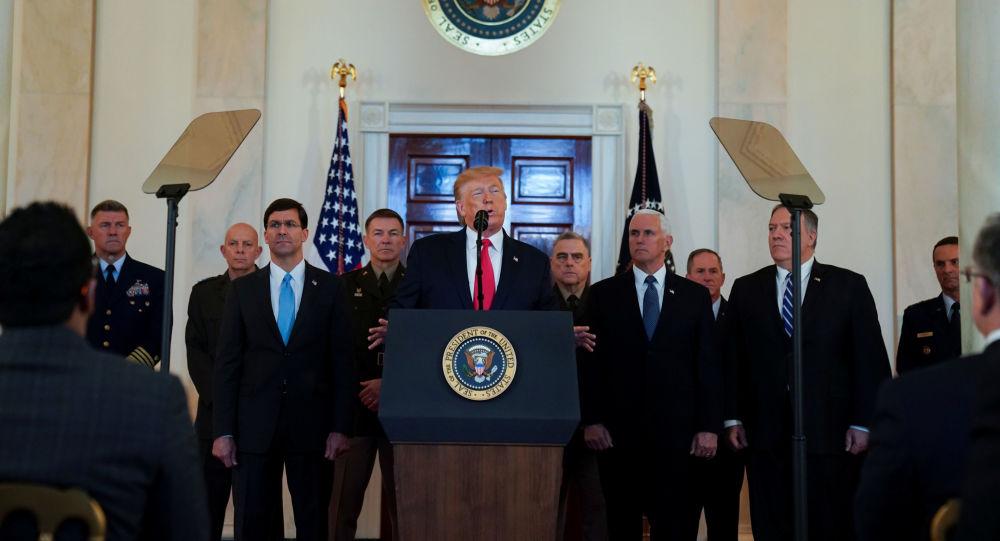 البيت الأبيض: ترامب شدد على أهمية رفع الناتو لوجوده في الشرق الأوسط