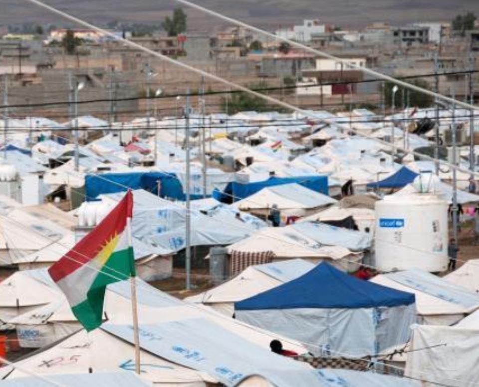 احصائية: عودة ١٥٨٦ عائلة لمخيمات النزوح في إقليم كردستان بسبب مخاوف أمنية