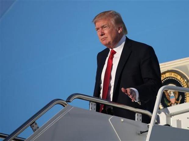 الرئيس الأمريكي دونالد ترمب يصل تل أبيب