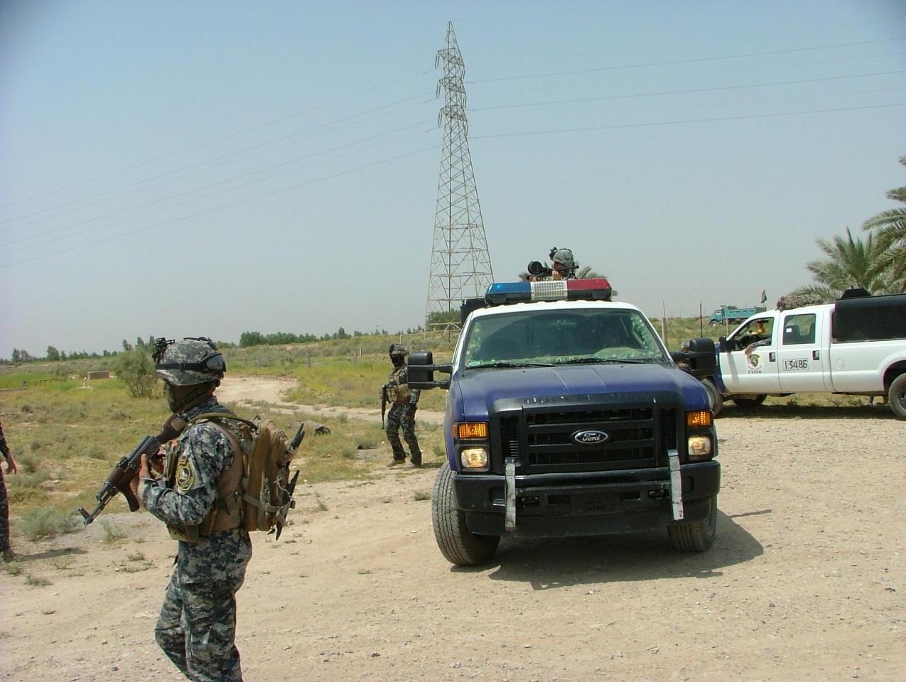 عمليات بغداد تعلن مقتل انتحاري شمالي بغداد