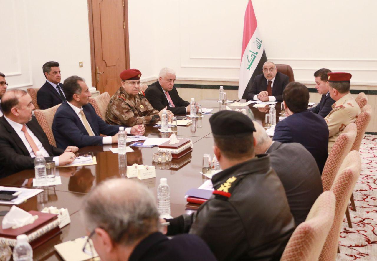 مجلس الامن الوطني يبحث مع محافظ كركوك تهريب النفط وملاحقة داعش