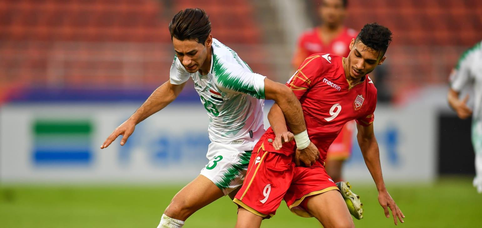 العراق يقتنص تعادلاً مثيراً امام البحرين في نهائيات آسيا تحت 23 عاماً