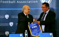 """اتحاد الكرة في فلسطين يفاجئء بلاتر برفضه سحب طلب تعليق عضوية """"إسرائيل"""""""