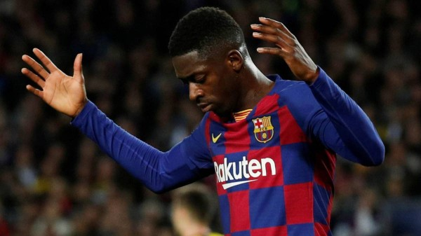 برشلونة يحسم موقف ديمبلي في الموسم المقبل