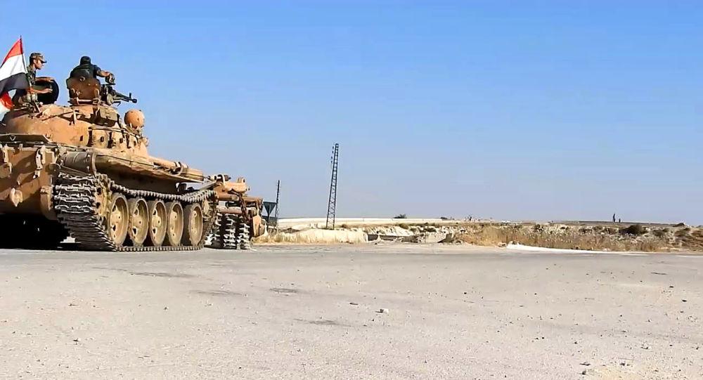 الجيش السوري يدخل عين العرب (كوباني)