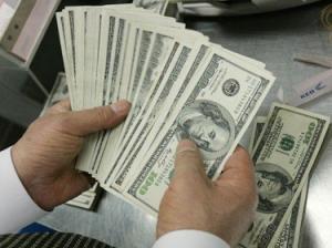 انخفاض سعر صرف الدولار عند  1286 ديناراً للدولار الواحد