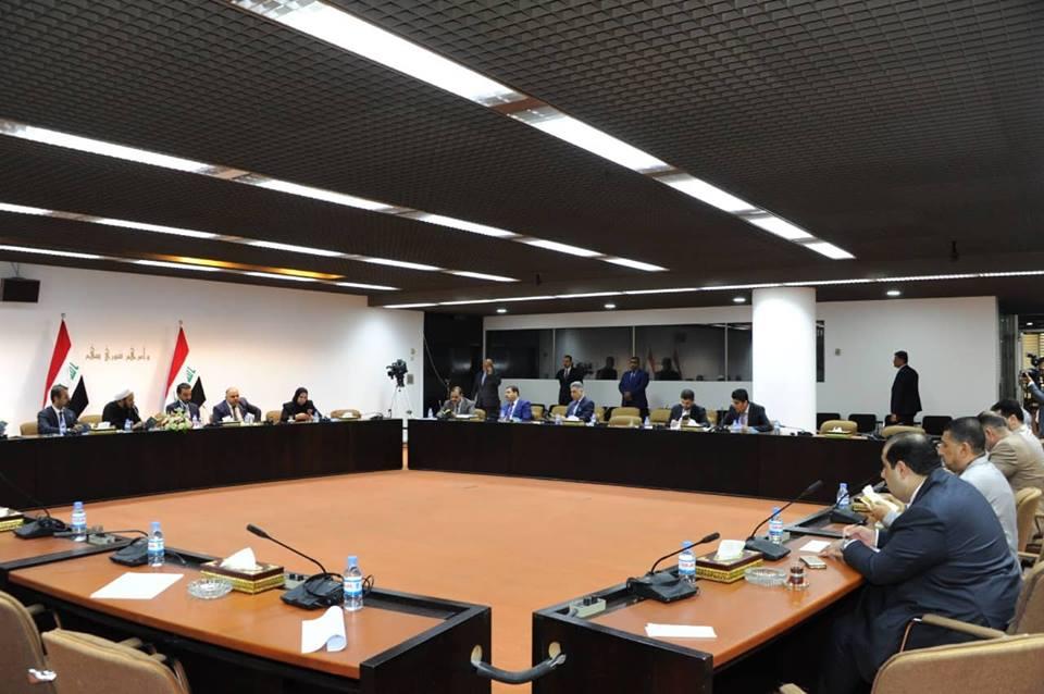 رئيس البرلمان يجتمع مع لجنة تعديل النظام الداخلي للبرلمان