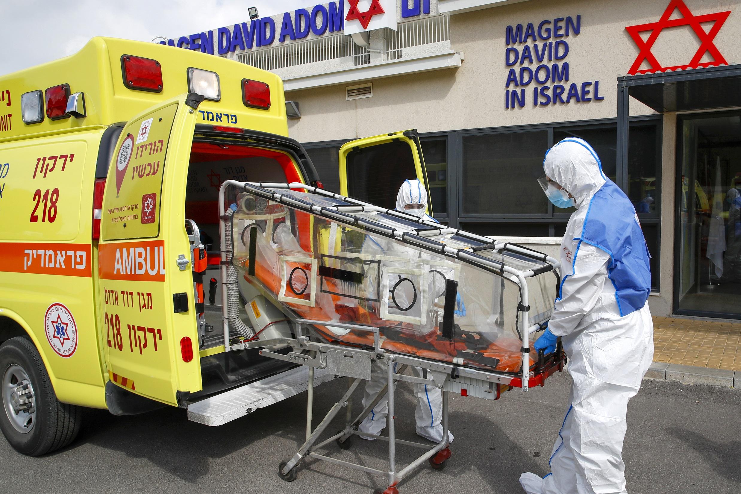 اسرائيل تسجل اعلى معدل اصابات يومي بكورونا ..  نحو 1000 إصابة