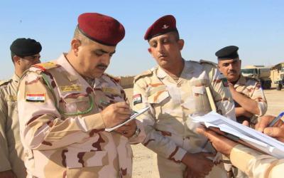 تعيين قائد الفرقة 14 للجيش  اللواء الركن عبد المحسن حاتم العباسي بمنصب قائد عمليات ديالى