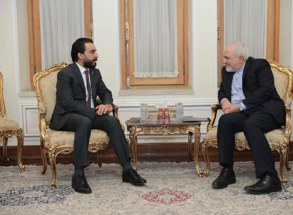Halabousi discusses with Shamkhani the security and political developments of the region Image