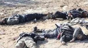 القوات الأمنية تقتل 10 انتحاريين وقادة كبار من داعش في ضربة جوبة في محافظة صلاح الدين