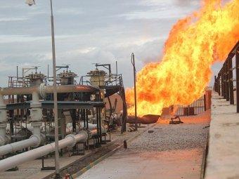 نشوب حريق في محطة توليد الطاقة الكهربائية في كركوك والسبب ؟؟