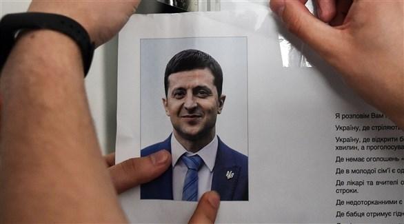 ممثل كوميدي مرشح لرئاسة أوكرانيا