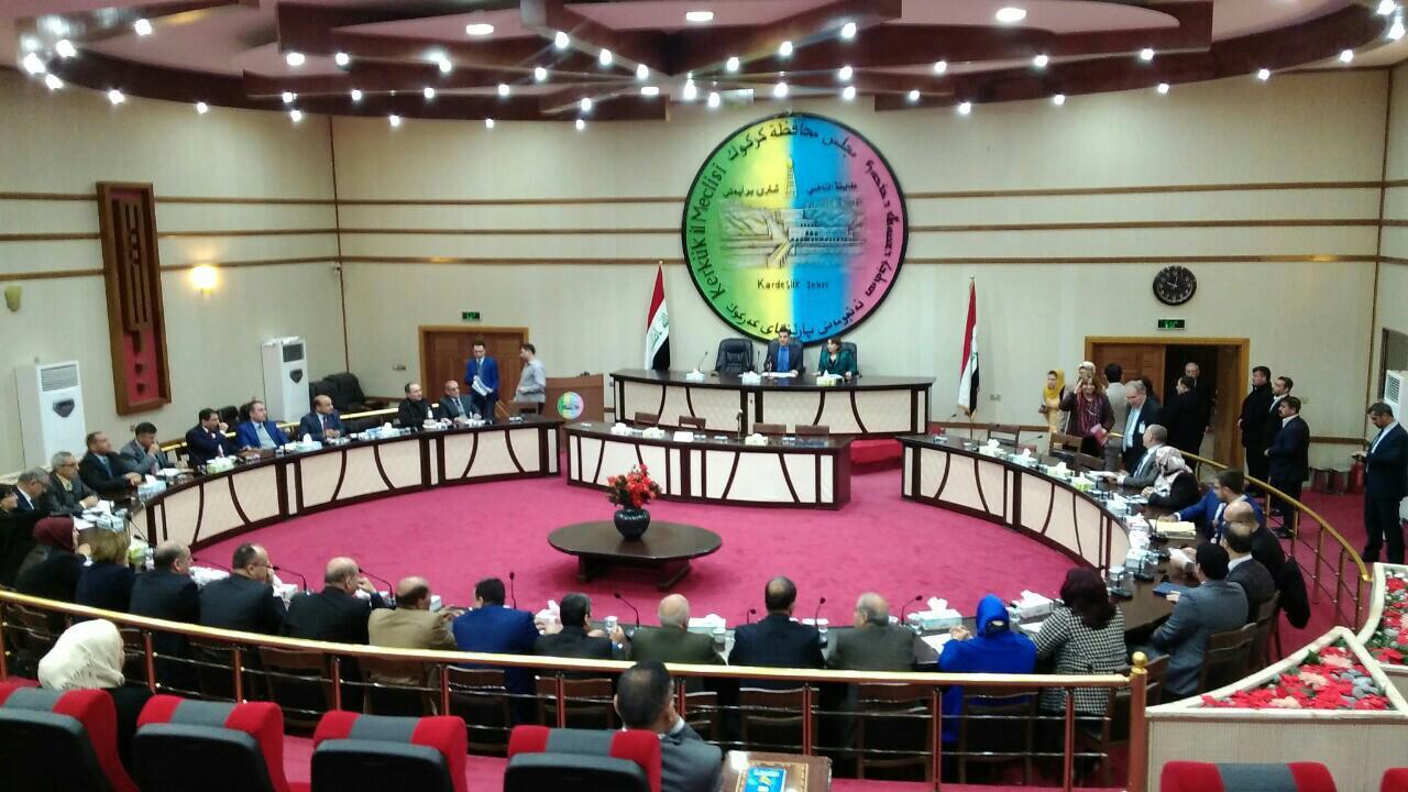 مجلس كركوك: لن نمنح المحافظ الصلاحيات الكاملة وحديثه عن عدم حضور الاعضاء مغلوط