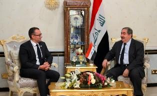 وزير الخارجية يبحث مع ميلادينوف اهم القضايا ذات الاهتمام المشترك بين العراق والأمم المتحدة