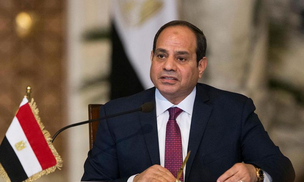 الرئيس المصري: لا دور للإخوان طالما بقيت رئيسا