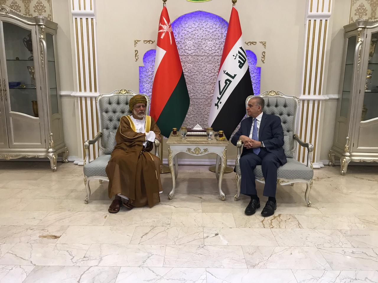 وزير الخارجية العماني يصل الى العراق في زيارة رسمية