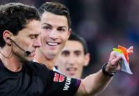"""معاقبة رونالدو  بمنعه من اللعب مباراتين  متتالين على خلفية إعتدائه على """"أيديمار """""""