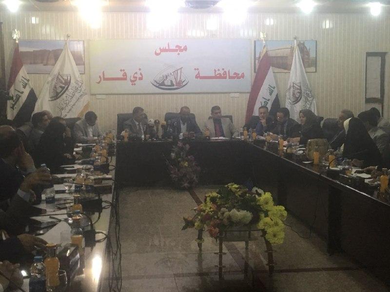 مجلس ذي قار ينهي جلسة استجواب الناصري غيابياً