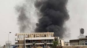 اشتعال حريق في مقر تابع لسرايا السلام غرب كربلاء