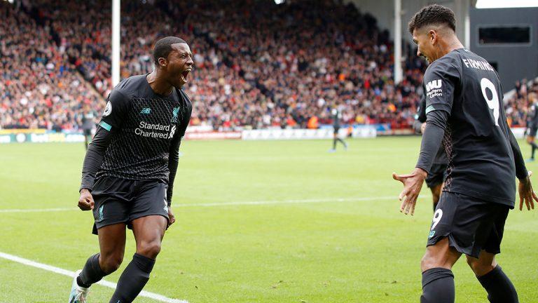 أرقام رائعة يحققها ليفربول بعد فوزه على شيفيلد في الدوري الإنجليزي