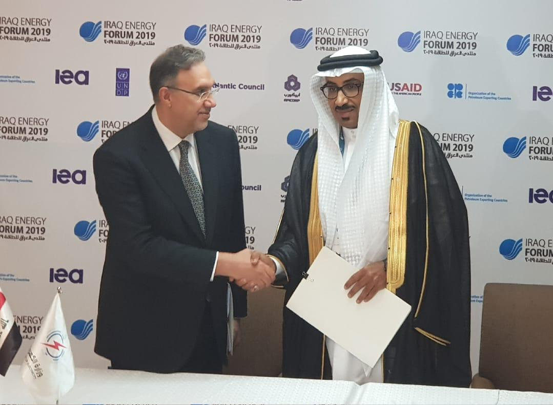 الكهرباء تبرم مع هيئة الربط الخليجي عقد إنشاء خطي استيراد الطاقة من المنظومة الخليجية