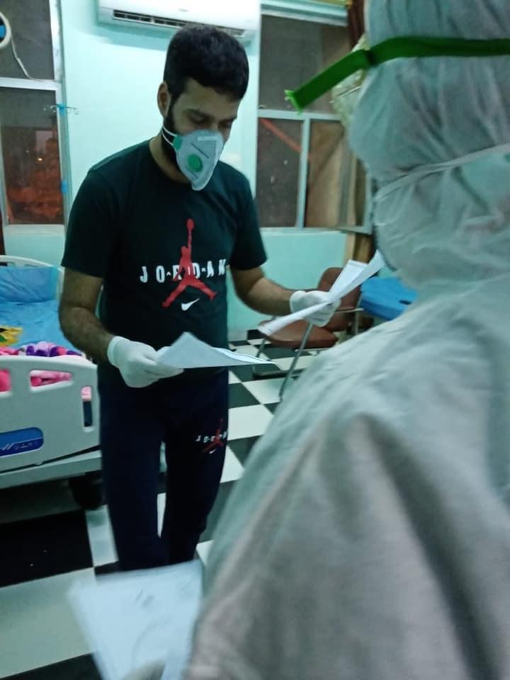 صحة الكرخ : مغادرة مصابين اثنين بكورونا بعد تماثلهم للشفاء التام من مستشفى الفرات