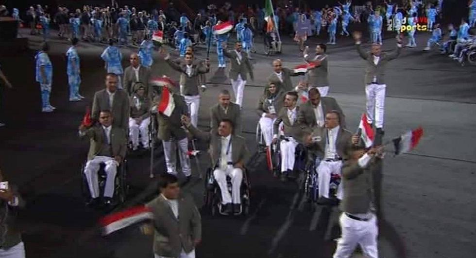 دورة الألعاب البارلمبية في في مدينة ريو دي جانيرو والعراق مشاركا