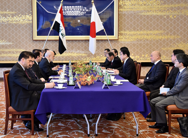 As a result of government corruption - Japan offers Iraq a loan of 500 million yen